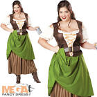 Oktoberfest Maiden Ladies Fancy Dress Beergirl German Wench Adult Costume Outfit