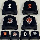 Detroit Tigers Retro Snap Back Cap ~Hat ~Classic MLB Patch Logo ~8 Styles ~New on Ebay