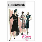 Butterick 5281 Retro '46 40s Dress NEW Vintage Sewing Pattern B5281 Goodwood