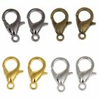 ❤ 50 x Silver Gold Bronze Plated 12mm Trigger LOBSTER CLASPS Jewellery Making ❤