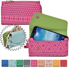 Convertible Aztec Smart-Phone Wallet Case Cover & Evening Clutch MLUC6