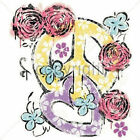 Rose Heart Peace Sign T-Shirt All Sizes (463)