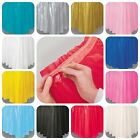 Party Table Skirt -  self-adhesive - plain colours tableware