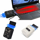Mini Vacuum USB Laptop Cooler Air Extracting Exhaust Cooling Fan CPU Cooler F5