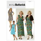 Butterick 5764 PLUS SIZE Shrug Pullover Wrap Dress Belt Sewing Pattern B5764