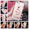 Glitter Luxury Crystal Bling Rhinestone Diamonds Soft Silicone Case Cover AB-11