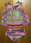 *NEW* FRED BARE GIRLS 2 PC SET DRESS AND BLOOMERS AZTEC LIGHTWEIGHT SUMMER