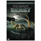 The Beast DVD, 2008, 2-Disc Set, Extended Edition Peter Benchley's