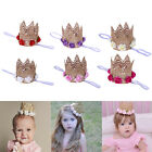 Kids Girl Baby Toddler Flower Cute Crown Headband Hair Band Accessories Headwear