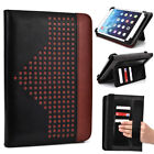 8 inch Patent Leather Protective Tablet Folding Case Cover & Stand MUEP-2