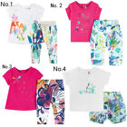 Catimini Baby Summer Dress/Leggings And Tee/Shorts 3M-4A