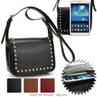 7.9 inch Tablet Womens Studded Faux Leather Shoulder Bag Case Cover BGSTU-4