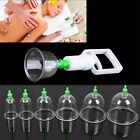 Effective Healthy 6/12 Cups Medical Vacuum Cupping Suction Therapy Device Set KY $2.11 CAD on eBay