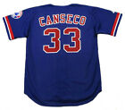 JOSE CANSECO Montreal Expos 2002 Majestic Throwback Baseball Jersey