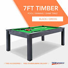 7FT Pool Dinning Office Snooker Billiards Table Free Accessory Local Store! $649.99 AUD on eBay