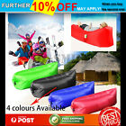 Chill Lazy Chair Fast Inflatable Camping Sleeping Lay bag Sack Beach Air Bed