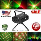 4pcs Black Mini Projector DJ Disco Light Stage R&G Party Laser Lighting Show US