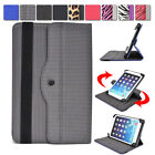 Universal 7 - 8 inch Tablet Slim Sleeve Folio Case Cover & Rotating Stand 08AR1
