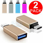 """USB-C 3.1 Type C Male to USB 3.0 Female Adapter Sync Data Hub For MacBook 12"""""""