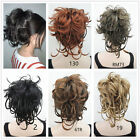 bendable wires short hairpiece ponytail tiny braids claw clip Bun updo hairpiece