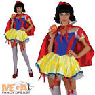Sexy Snow Princess Snow White Fairytale Fancy Dress Ladies Costume Outfit 6-24