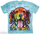 GOLDEN RETRIEVER Dog Puppy T Shirt The Mountain Dog Is Love Russo Tee S-4XL 5XL