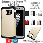 SAMSUNG GALAXY NOTE 7 CASE, HEAVYDUTY SLIM ARMOR COVER + GLASS SCREEN PROTECTOR
