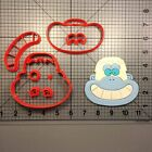 Yeti Face 100 Cookie Cutter Set