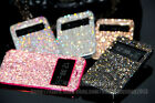Bling Austria Diamond Crystal Leather View Case Cover For Samsung Galaxy Note