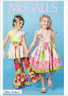 McCalls 6497 Easy Girl Toddler Top Dress Trousers Pants 2-8 Sewing Pattern M6497