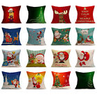 "18"" Attractive Christmas Tree Home Waist Cushion Cotton Pillow Case Decor Gifts"
