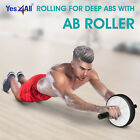 Yes4All Dual Ab Wheel Roller Workout Abdominal Core Exercise Fitness Training image