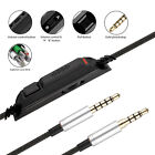 For Astro A10 A40 A30 A50 Gaming Headset Replacement Audio Cable Cord 2M 3.5mm
