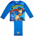 Boys Official DC Comics Superman Man of Steel Pyjamas Blue 4 to 10 Years