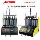 100% AUTOOL CT200 Fuel Injector Cleaner Tester F Petrol Car Motorcycle 110V 220V