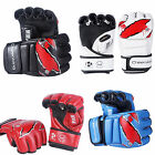 Sparring Grappling MMA UFC Boxing Gloves Fight Punch Mitts Leather Training