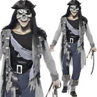 Uomo Ghost Costume Da Pirata Costume Da Halloween Haunted Walking Dead