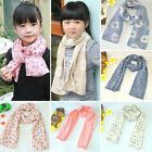 Внешний вид - New Winter Warm Boys Girls Collar Baby Scarf Children Stars O Ring Neck Scarves