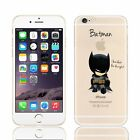 Custom World Superhero Comic Quotes Cute Funny Novelty Hard Phone Case Cover