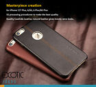 iPhone 7 / 7 Plus Upscale Genuine Leather Case Skin for men w Deer Skin Textured