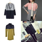Women Casual Long Sleeve Knitted Sweater Tops Loose Cardigan Outwear Jacket Coat