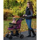 Happy Trails Lite Pet Stroller With Panoramic View Window.