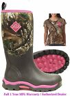 WDW-4RTX Muck Boot Women's Woody Max Realtree XT Pink Camo  Most Sizes
