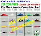 New Ez Pop Up Replacement instant canopy gazebo tent Top Cover Select Color&Size