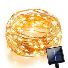 120 LEDs Waterproof Solar Powered Starry String Copper Wire Fairy Lighting Party