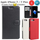 Apple iPhone 7 / 7 Plus Case Cover, Premium Lightweight New Leather Wallet Cover