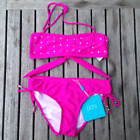 Jets-Girls Bandeau & Gathered Tie Pant 2 Pce