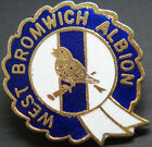 WEST BROMWICH ALBION FC Vintage badge Maker COFFER N'ton Brooch pin 28mm x 31mm