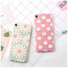 Little Daisy Soft Phone TPU Silicone Rubber Matte Case Cover For iPhone 7 7Plus