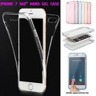 Apple iPhone 7 Full Body Cover iPhone 360° HARD GEL Case All Round Protection
